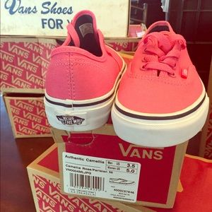 4b04031926 ... Coral classic Vans brand new w  box woman s size 5 ...